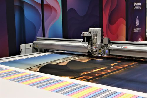 Specialised Canvas invest in their second Zünd digital cutter