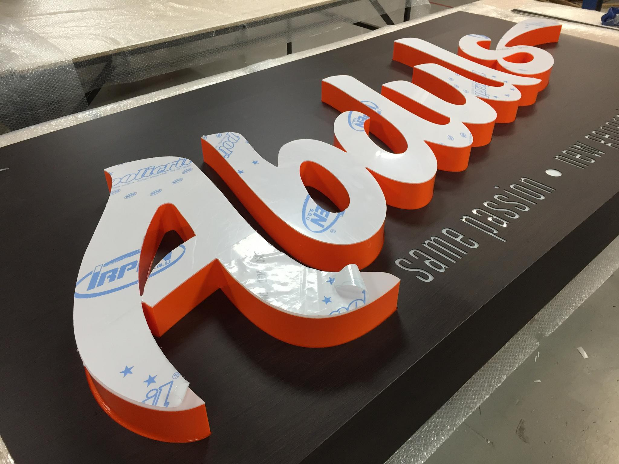 What do signmakers need from creatives?