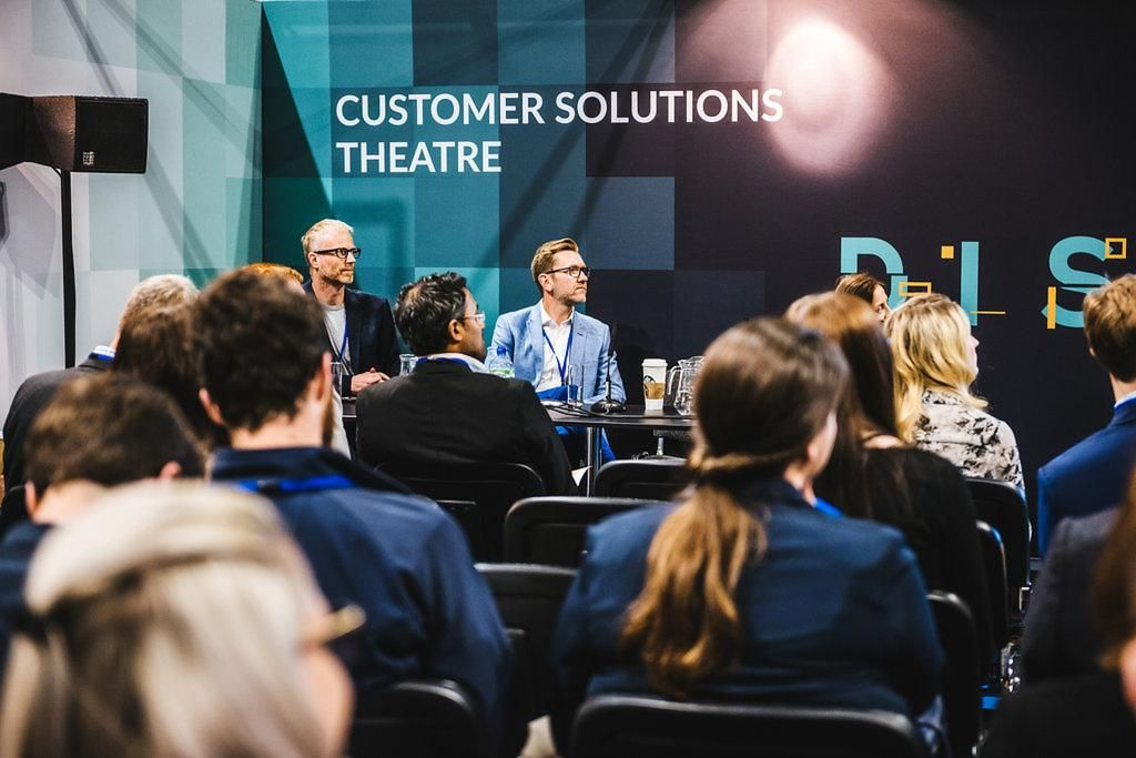 Customer Solutions Theatre Sponsorship