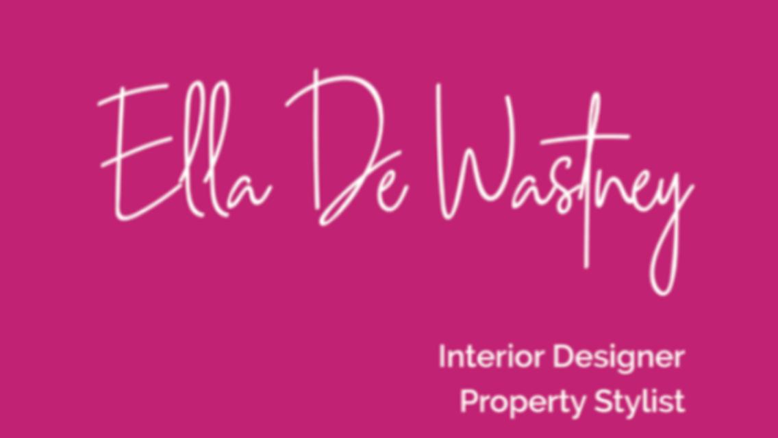 Ella De Wastney Interior Design