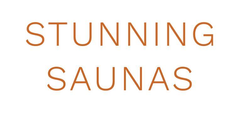 Stunning Saunas