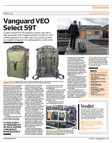 Photography News Review - VEO Select 59T Roller Case