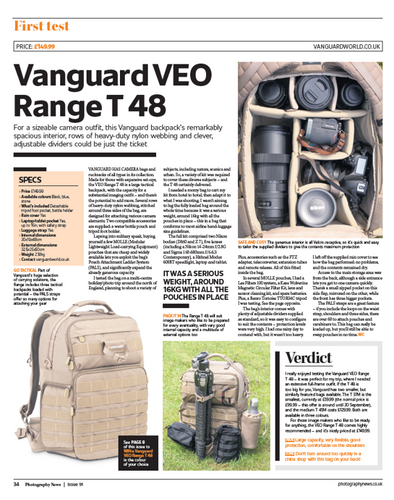 Photography News Review - VEO Range T48