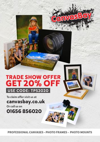 20% Off Canvasses