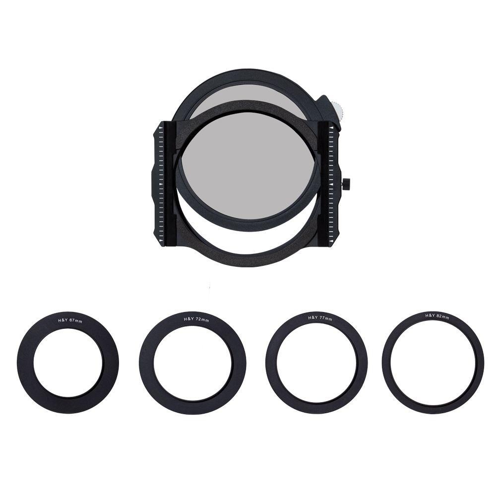 H&Y KH-100 100mm Holder, Magnetic Filter Holder with rear drop in circular polariser