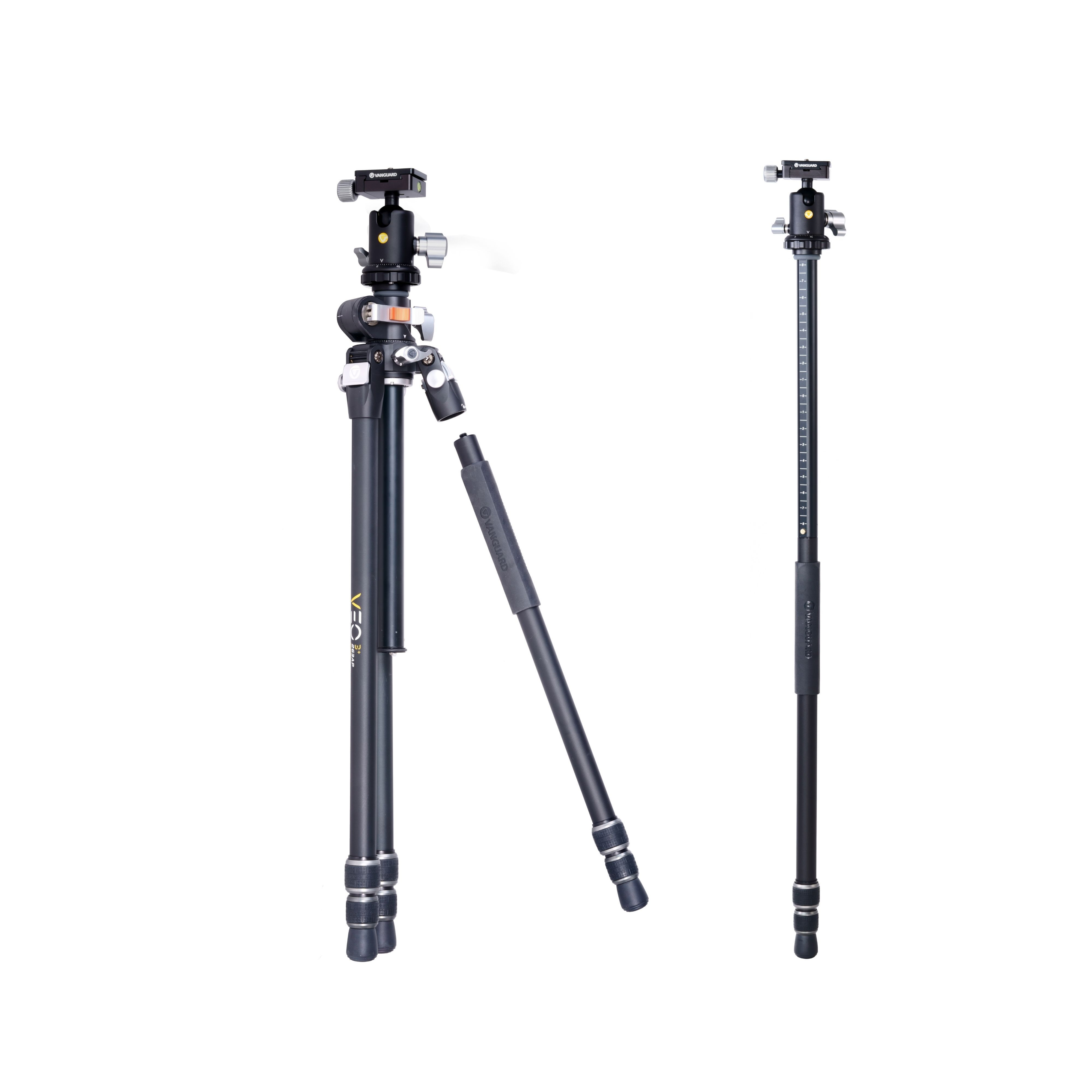 Setting Up The Monopod On The VEO 3+ Demo Video