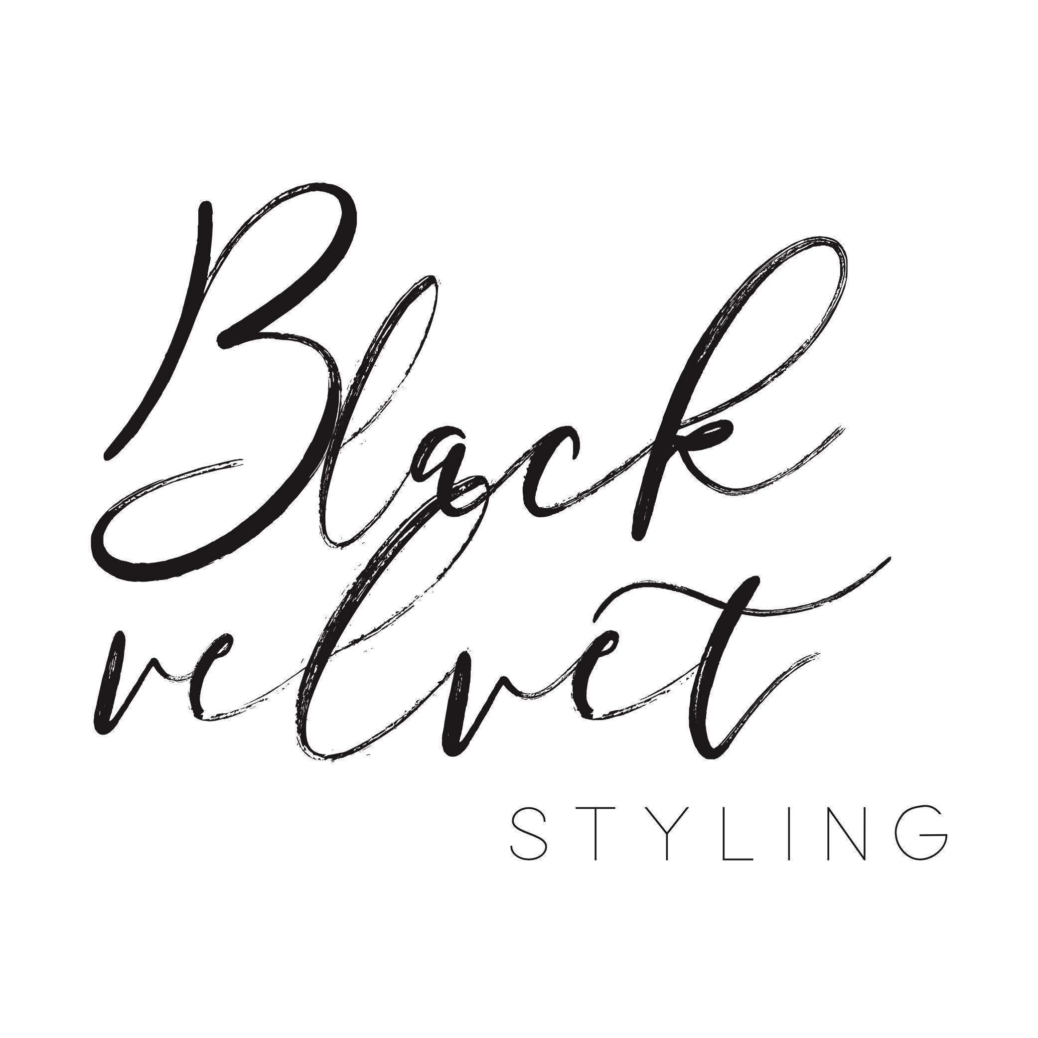 Black Velvet Styling