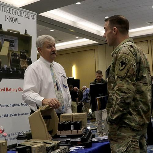 The Expo Hall took place in conjunction with the Symposium, and offered nearly 50 exhibits from companies with capabilities that are needed by Army SOF.