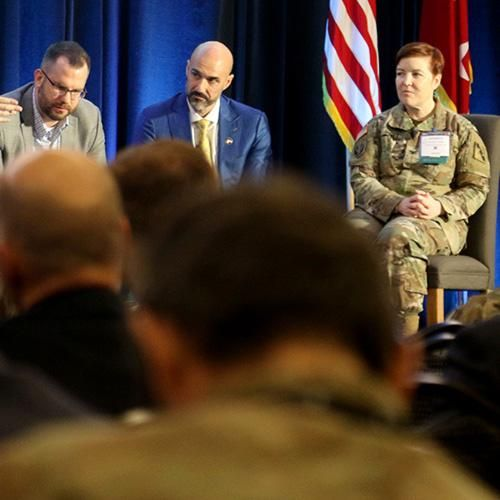 Attendees included subject matter experts, Army SOF, conventional units, industry, and academia