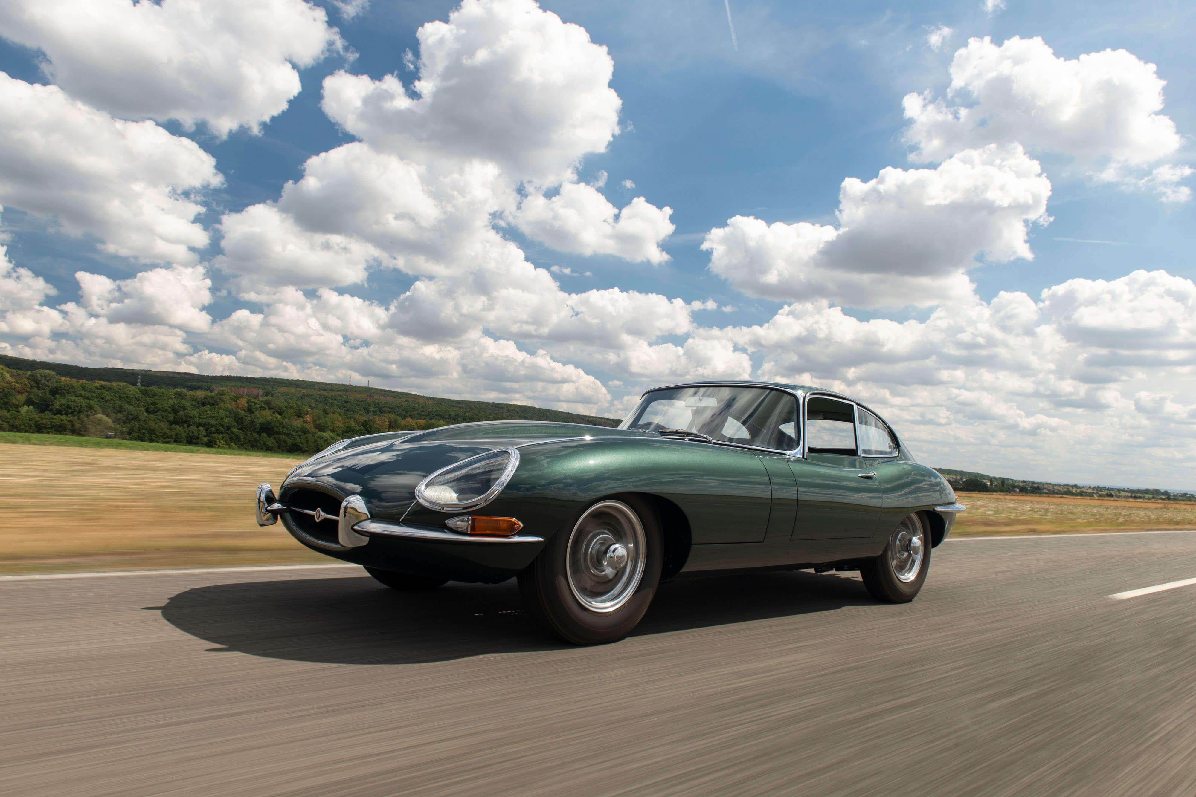 1961 Jaguar E-Type Series 1 3.8-Litre Fixed Head Coupé