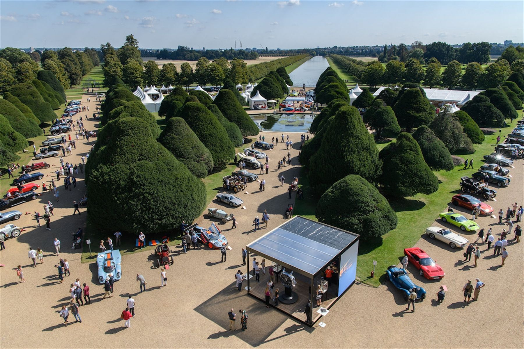 125th Anniversary Celebrations: Concours of Elegance at Hampton Court Palace