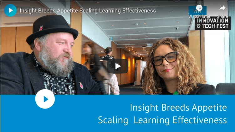 Insight Breeds Appetite Scaling Learning Effectiveness