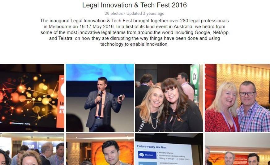 Legal Innovations & Test Fest 2016