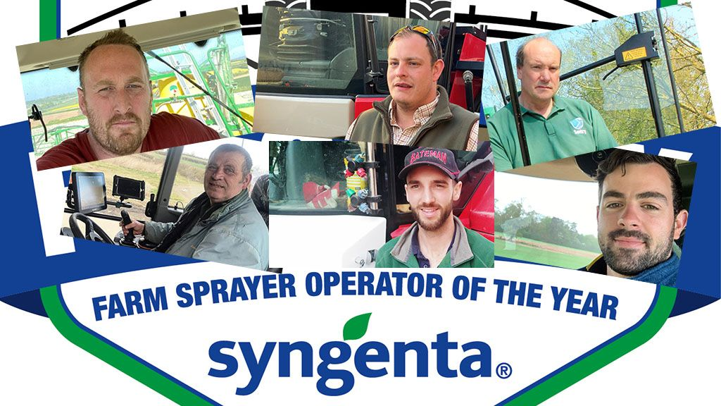 Spray operator of the year award graphic for sprays and sprayers arena page