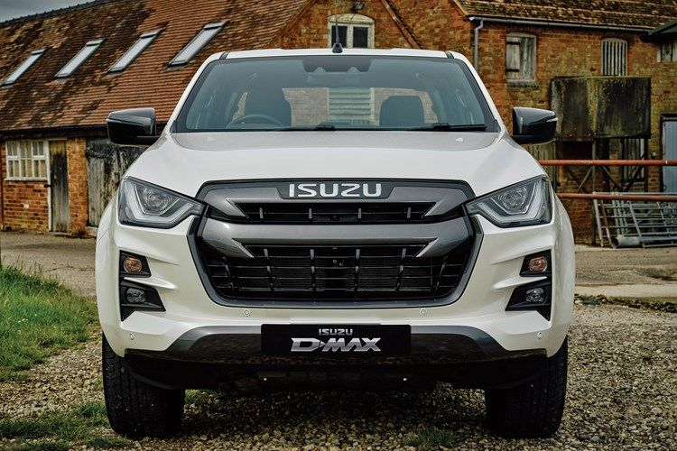 Isuzu pic for driving course page front view