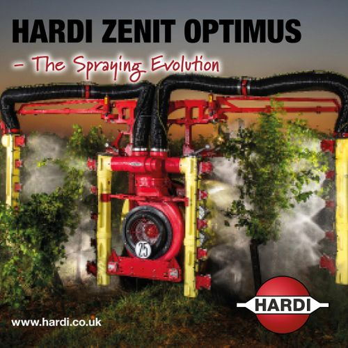 HARDI ZENIT OPTIMUS Mistblower: Available for demonstration