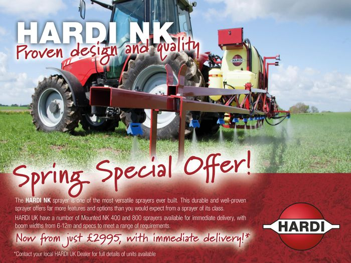 Spring Special Offer: NK Mounted