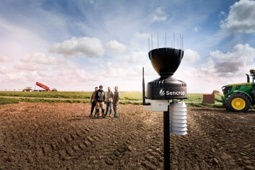 SENCROP, LARGEST FARM REAL-TIME WEATHER NETWORK IN EUROPE WILL TAKE PART TO THE CEREALS EVENT