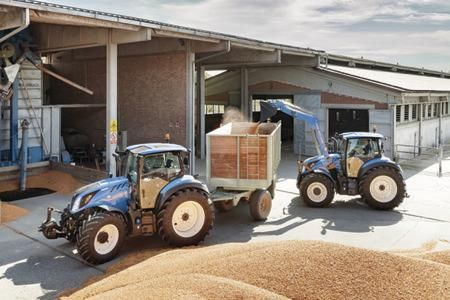 New Holland T5 Dynamic Command combines industry-leading efficiency and unrivaled versatility