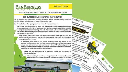 Ben Burgess Newsletter Spring 2020