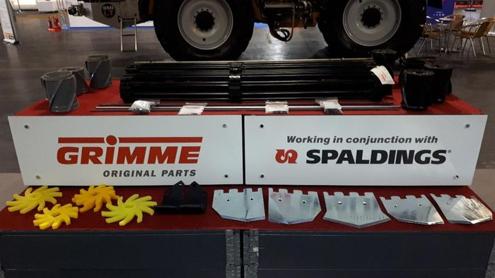 Spaldings to distribute genuine Grimme parts in parallel with dealers throughout the UK and Ireland