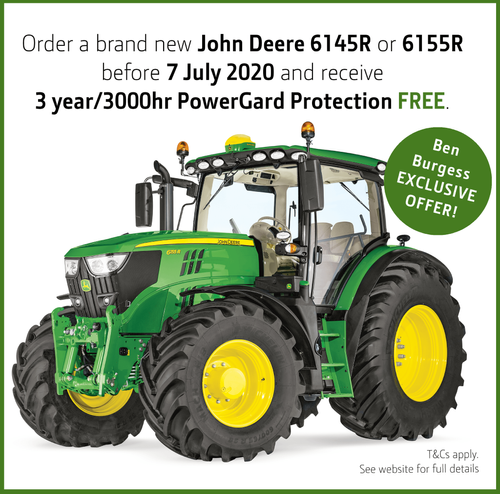 John Deere 6145R and 6155R exclusive offer!