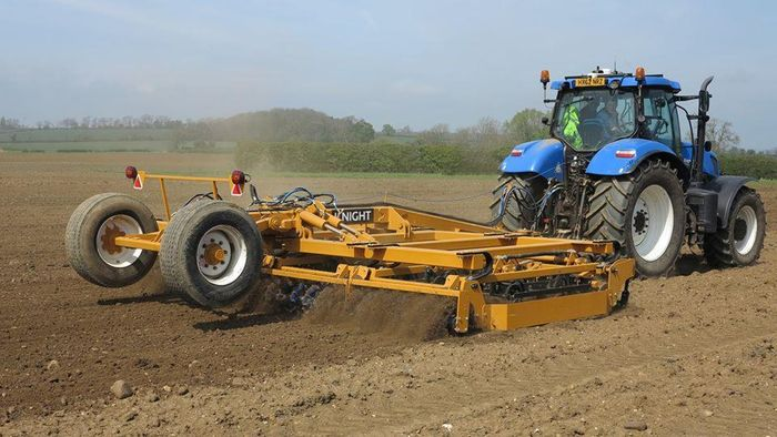 Knight Launches 'Top-Till' Seed Bed Finisher