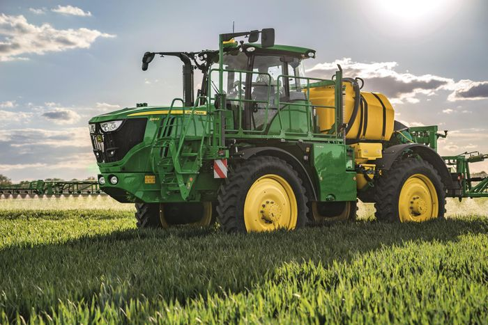 New self-propelled sprayers from John Deere