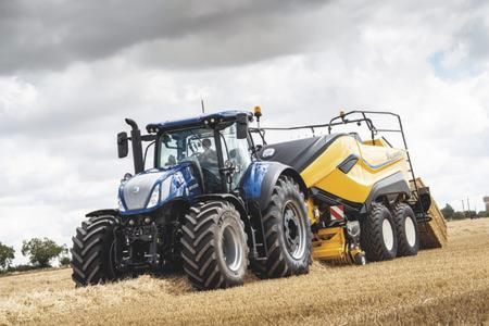 New Holland Big Baler 1290 High Density delivers all-out efficiency and productivity