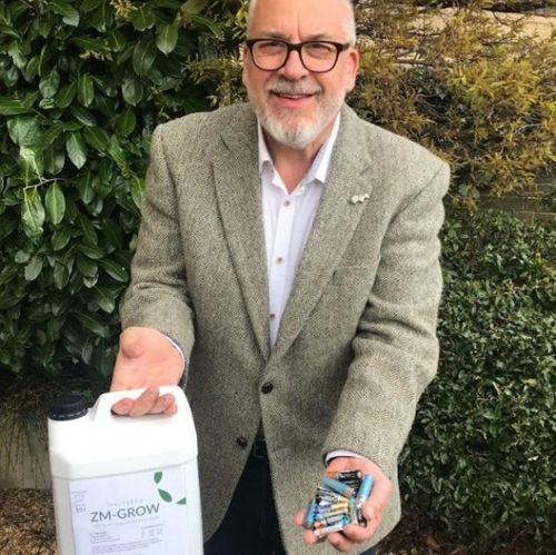 UNIQUE BATTERY POWERED FERTILISER CELEBRATES IT'S FIRST BIRTHDAY AT CEREALS LIVE