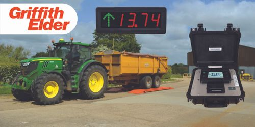 Griffith Elder at Cereals 2020 - Portable Weigh Beams