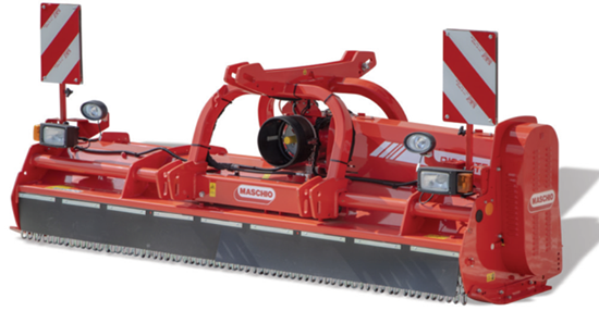 Product upgrade: Maschio Bisonte heavy duty flail mower now rated up to 140hp