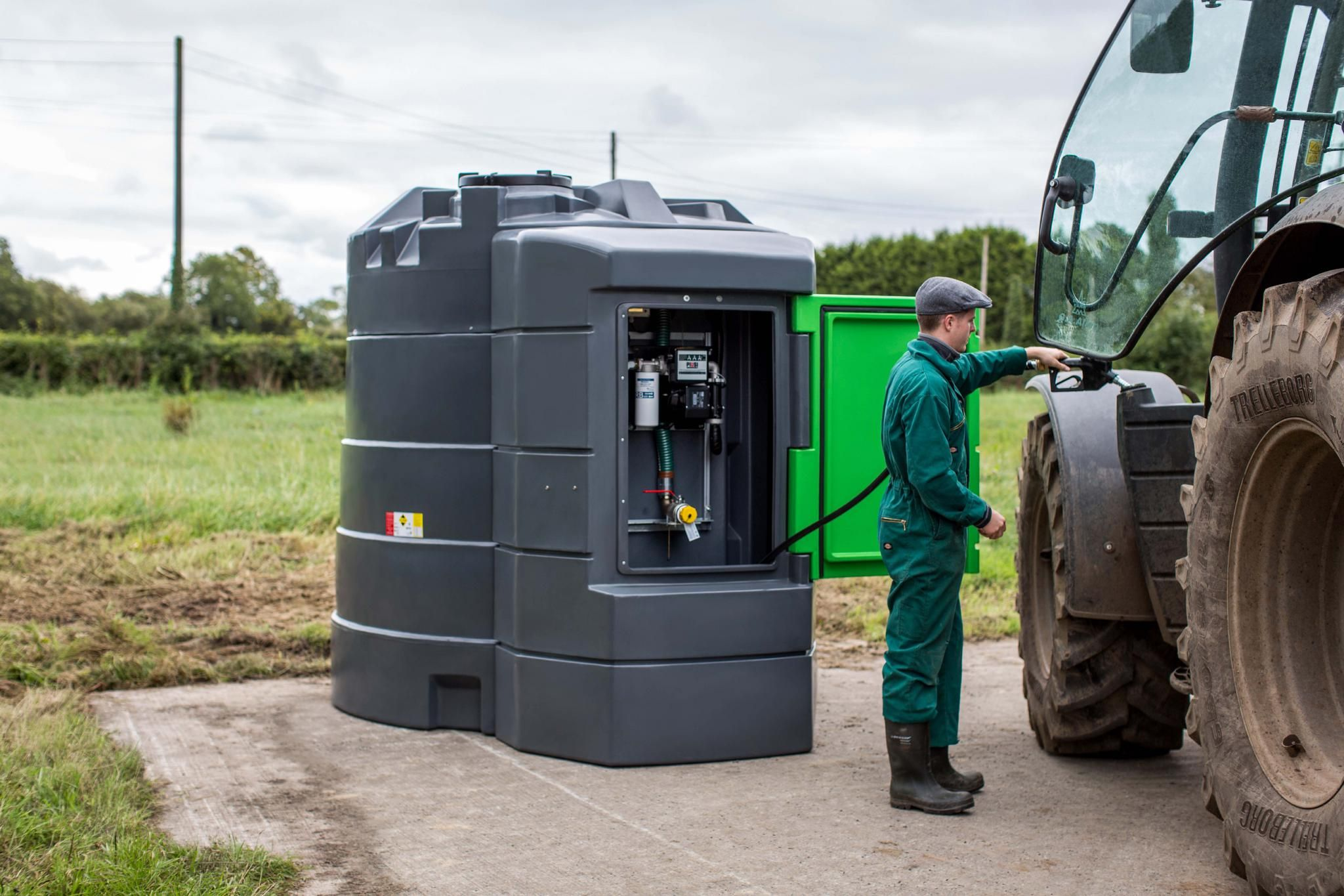 STORING FUEL SAFELY ON YOUR FARM