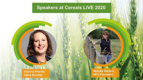 Defra minister and NFU president to speak at Cereals LIVE