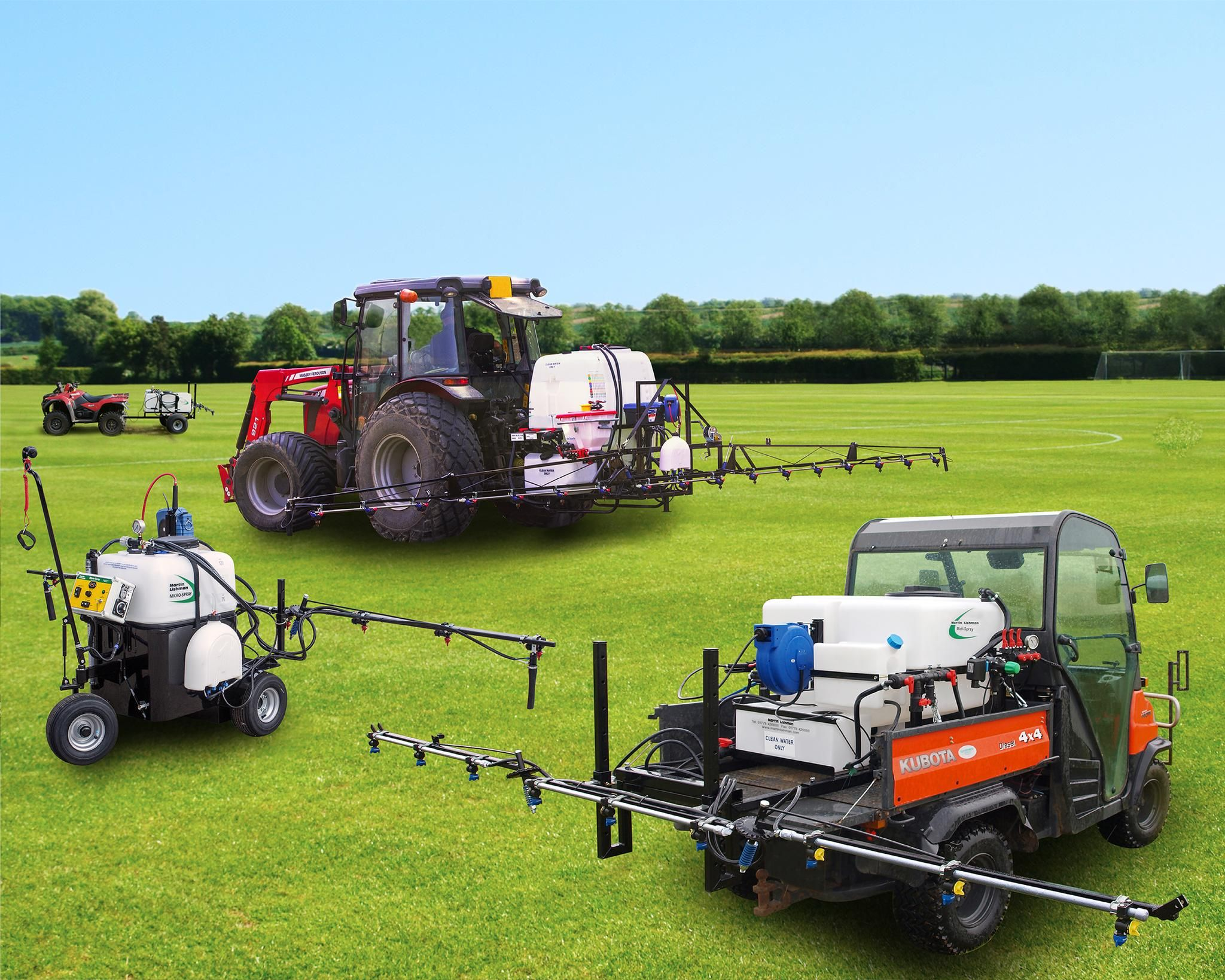 Compact Sprayers from Martin Lishman