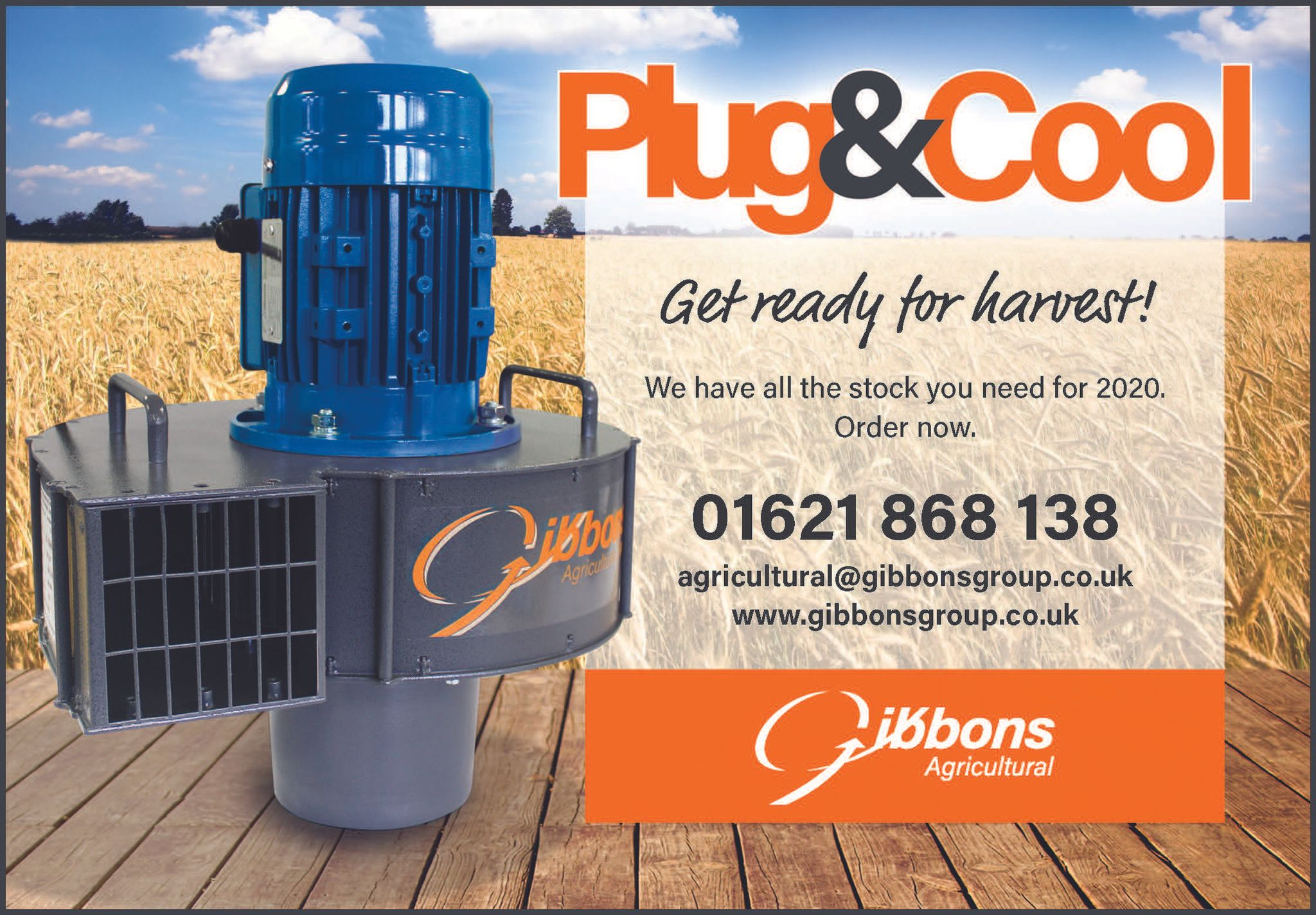 Grain Temperature Control with the Gibbons Airspear®