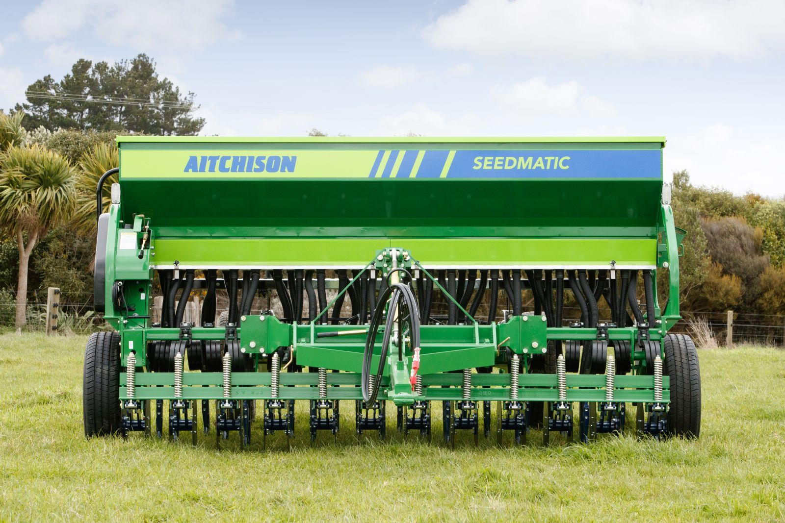 Seedmatic seed drills for direct drill demos
