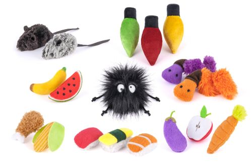 New P.L.A.Y. Collection of Cat Toys