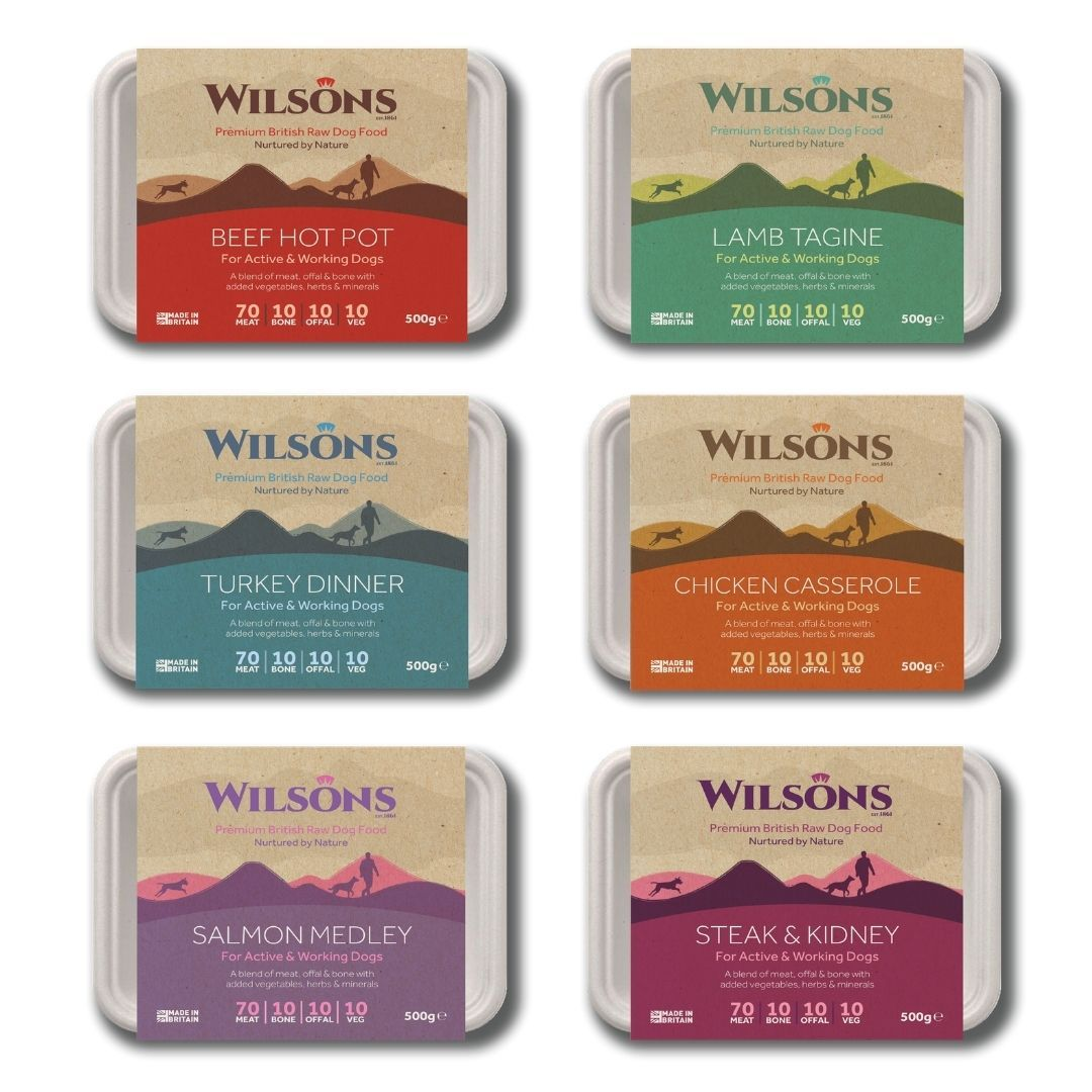 Wilsons Pet Food launch new Eco range of Raw Frozen