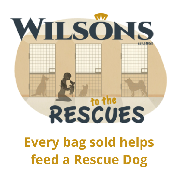 Wilsons Pet Food launch their new charity campaign Wilsons to the Rescues
