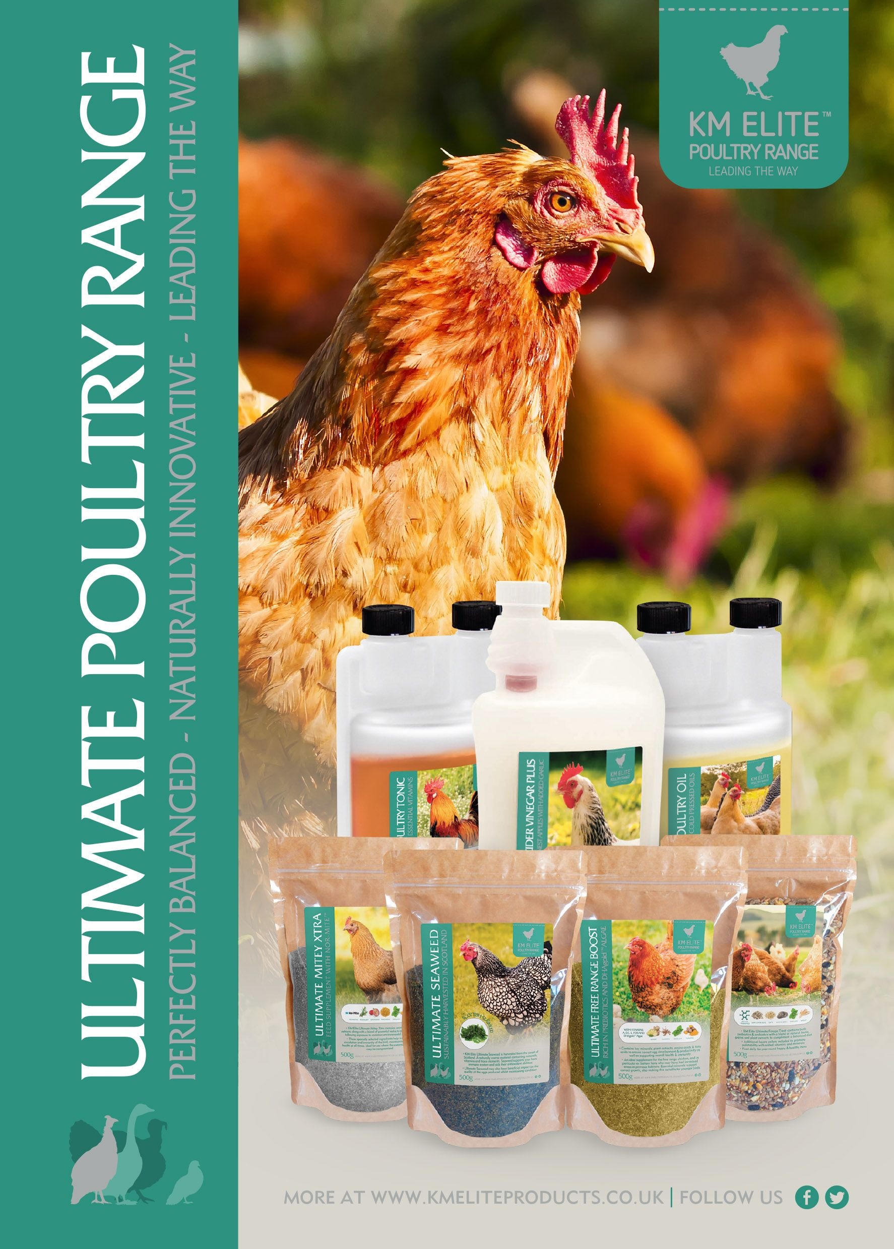KM Elite - Ultimate Poultry Range