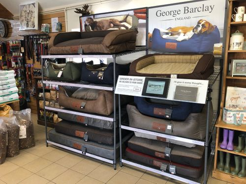 George Barclay's new in-store ordering system set to revolutionise how consumers buy luxury dog beds