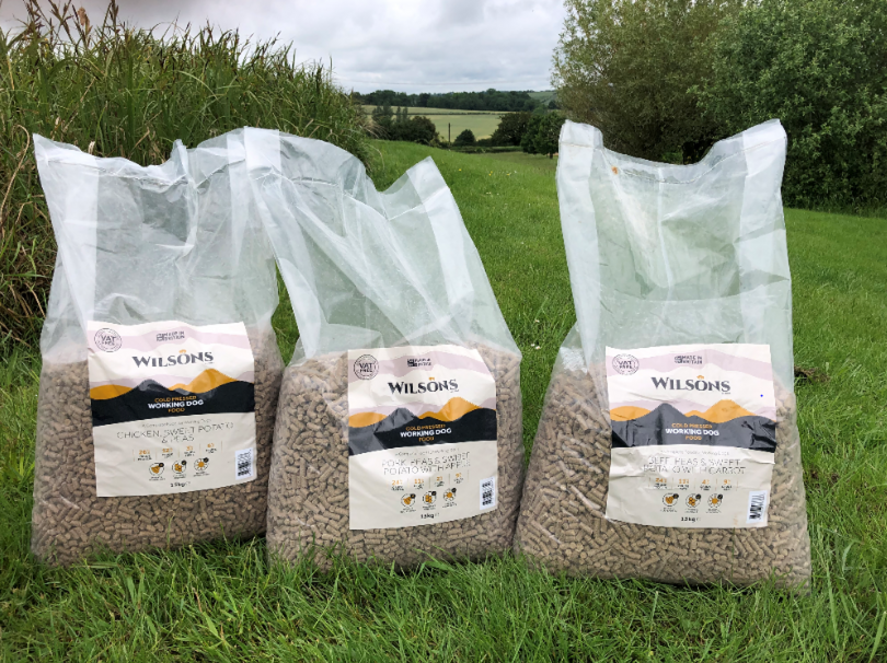 Wilsons Pet Food introduces new Cold Pressed Working Dog Food