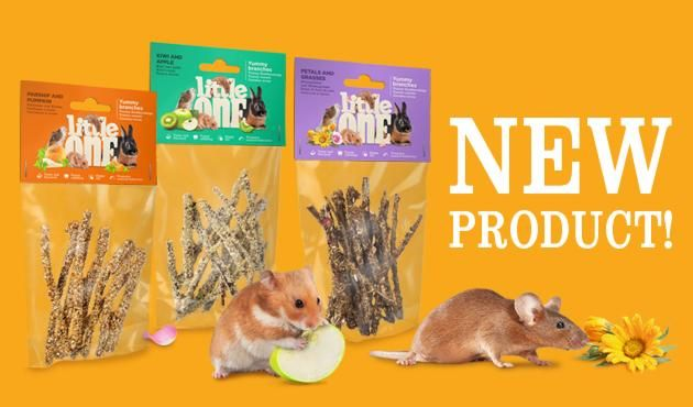 New Little One snacks: Yummy branches for rodents and rabbits