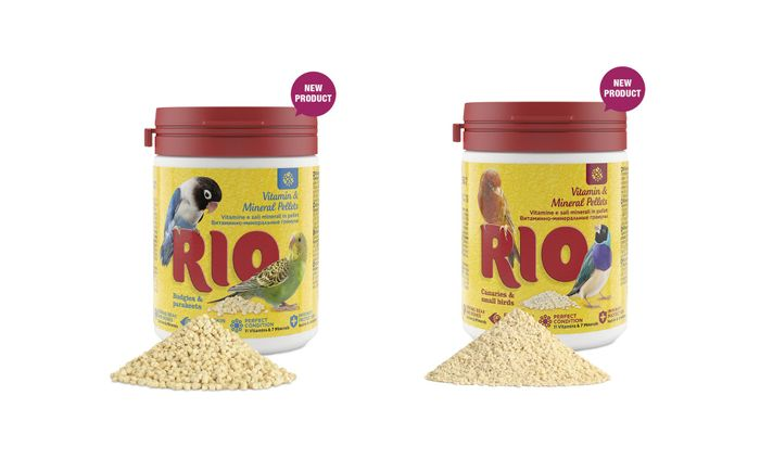 New from RIO: Vitamin & Mineral Pellets