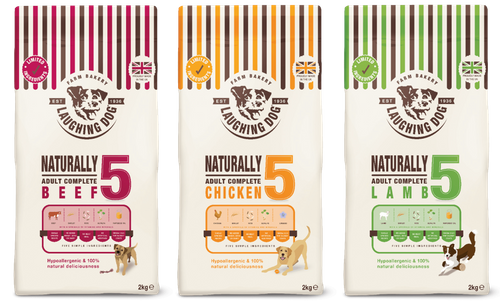 Laughing Dog Launches Limited Ingredient Recipe Completes
