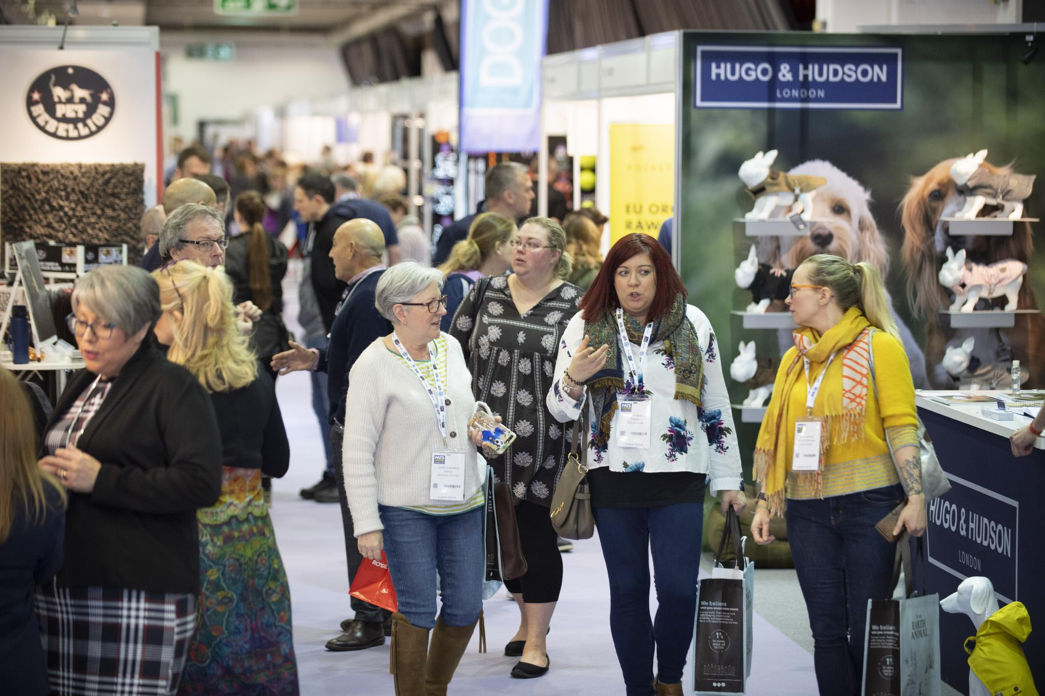 UK pet companies look forward to 'live' PATS Sandown in 2021