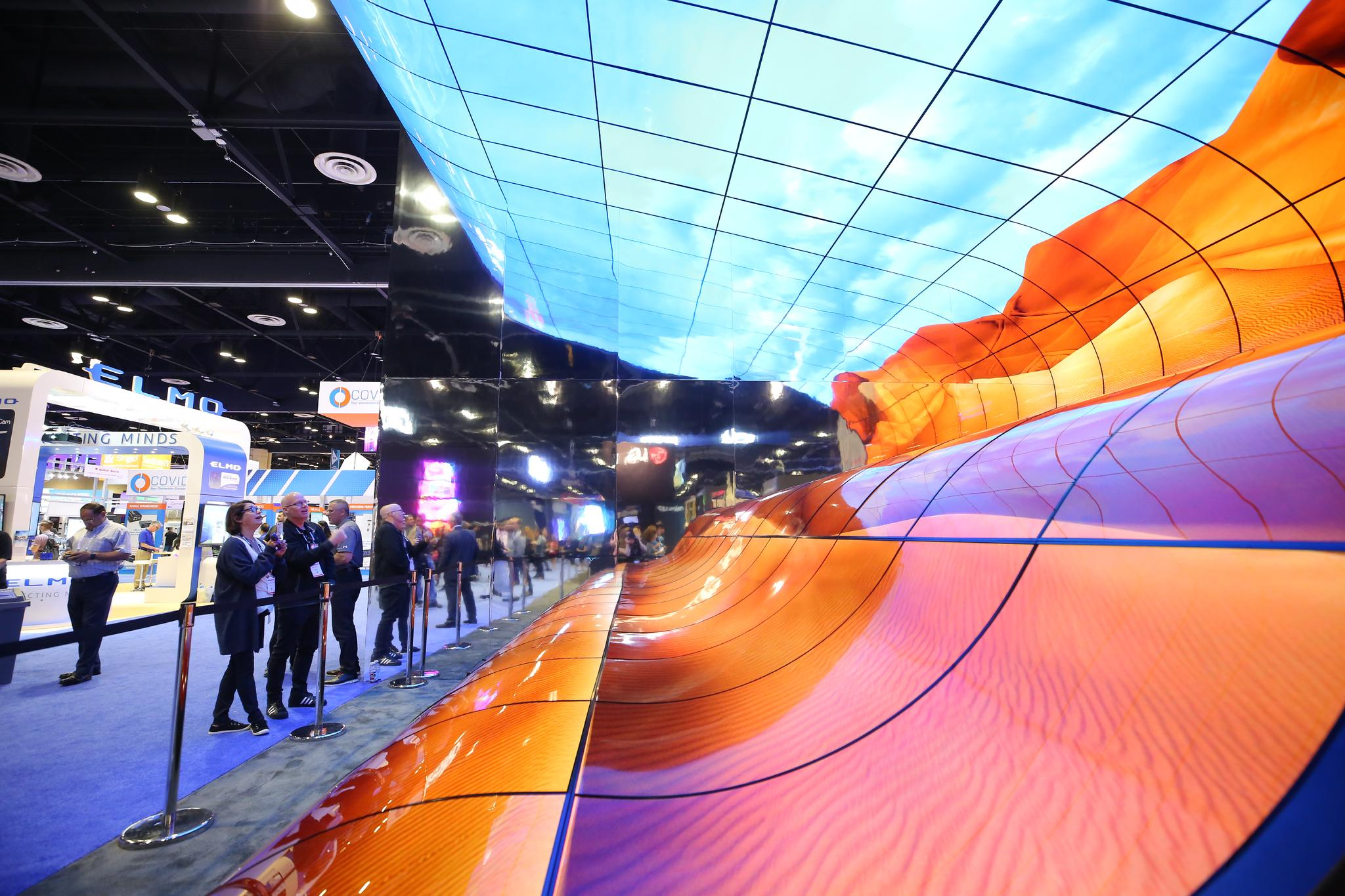 Immersive AV Meets the Built Environment at TIDE 2020
