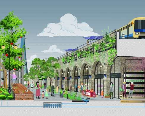 A new Green Vision for the Low Line - RIBA competition winner announced