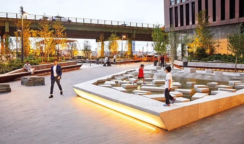 Belinda Cooper discovers a New York parklet that was designed to be floodable